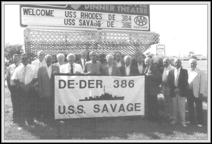 photograph of the SAVAGE Reunion Association - 1992