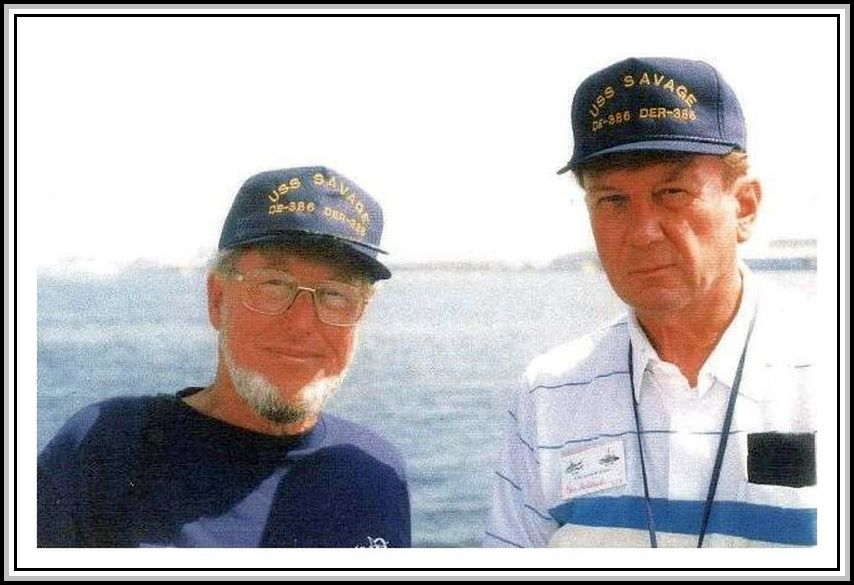 photograph of Paul Doster and Ron Gaillard
