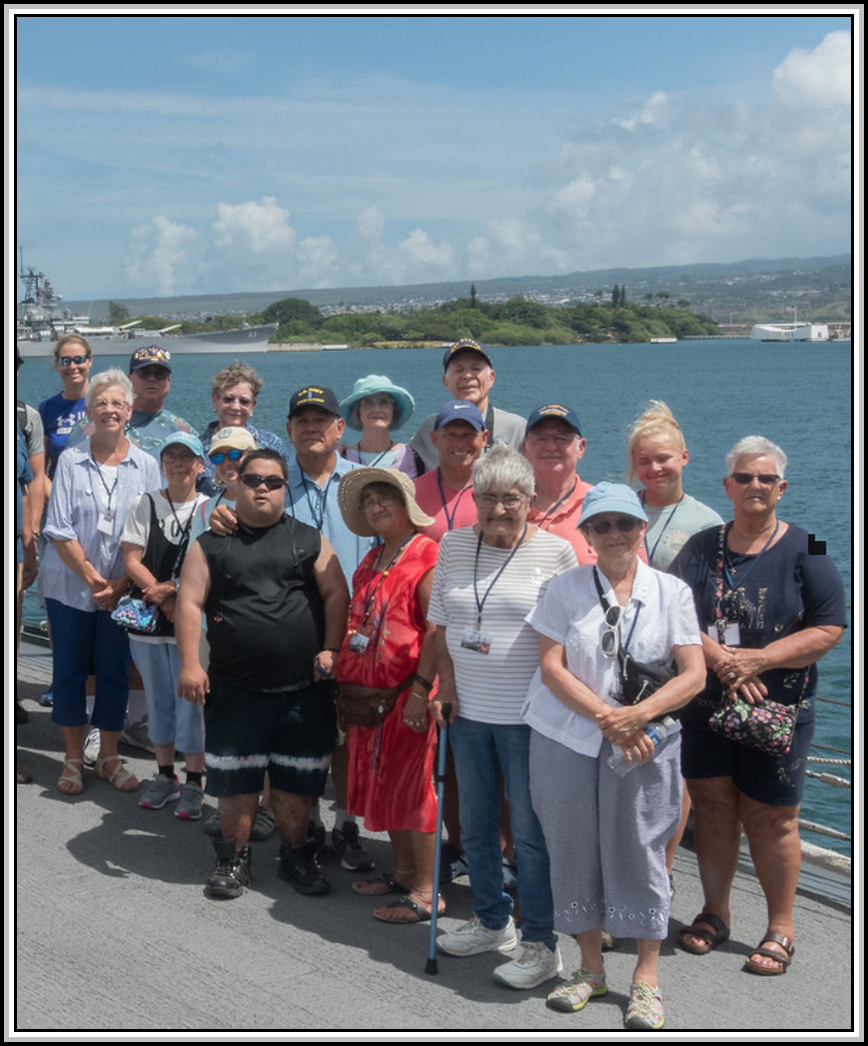 group photograph 2019 Honolulu, Hawaii