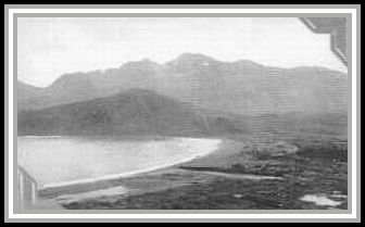 photograph of Attu (Aleutian Islands) taken the day WWII ended