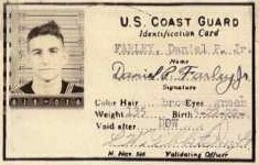 scan of Dan Farley's U. S. Coast Guard identification card