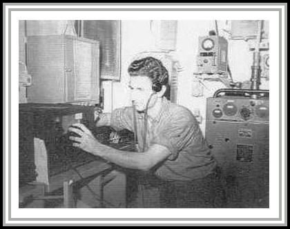 photograph of Dan Farley at radio