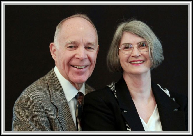 photograph of Ed and Ginny Stone 2011