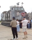 photograph of Landing Craft Air Cushions (LCAC)