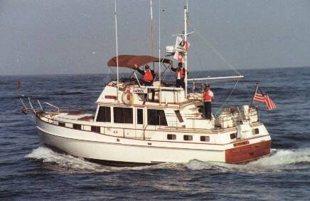photograph of Mel Kowal's boat - the MEI LEE