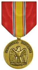 graphic of National Defense Medal