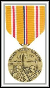 Asiatic-Pacific Area Campaign medal