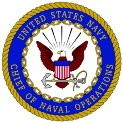 image of United States Navy Chief of Naval Operations logo