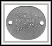 scan of USCG dogtag