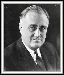 photograph of President Franklin Delano Roosevelt