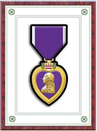 photograph of Purple Heart (front)
