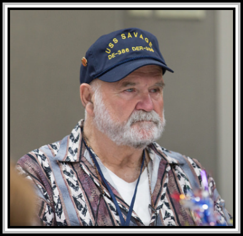 photograph of Mack C. Wilson, September 2015 USS SAVAGE Reunion