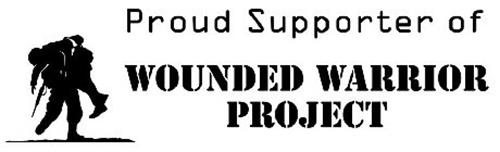 Proud Supporter of Wounded Warrior Project