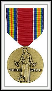 scan of WWII Victory medal